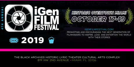 4th Annual iGen Film Festival tickets