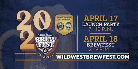 The Wild West Brewfest 2020 tickets