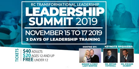 2019 Leadership Summit - Transformational Leadership tickets