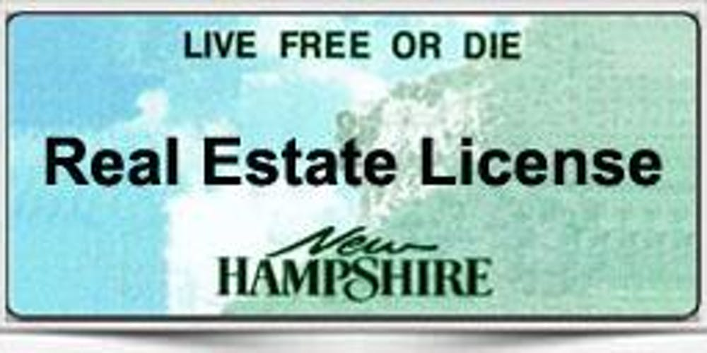 THINKING ABOUT GETTING YOUR N H  REAL ESTATE LICENSE? TWO