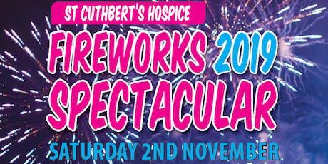 St Cuthbert's Hospice Firework Spectacular 2019 tickets