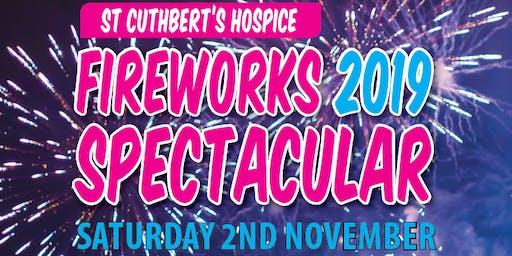 St Cuthbert's Hospice Firework Spectacular 2019