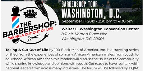 Barbershop Tour: Taking A Cut Out Of Life | Washington, D.C tickets