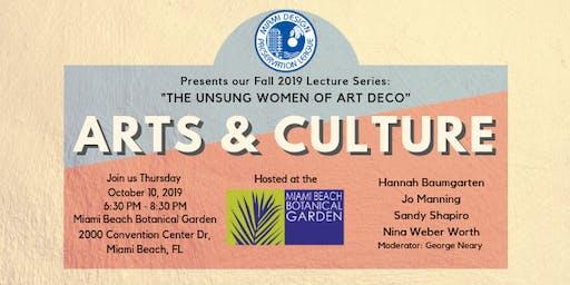 Unsung Women of Art Deco, Part 2: Arts & Culture