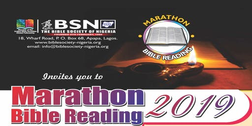 Marathon Bible Reading