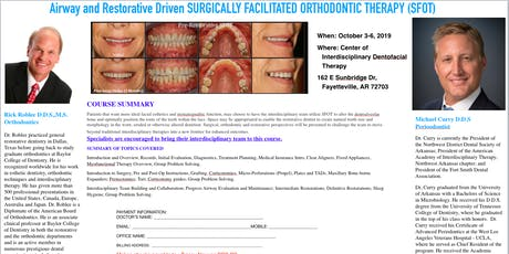 Airway and Restorative Driven Surgically Facilitated Orthodontic Treatment tickets