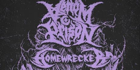 Venom Prison, Homewrecker, Black Mass, Joy, Dirt Church, Ghostwalker tickets