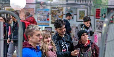 Poster exhibition and Christmas Fair
