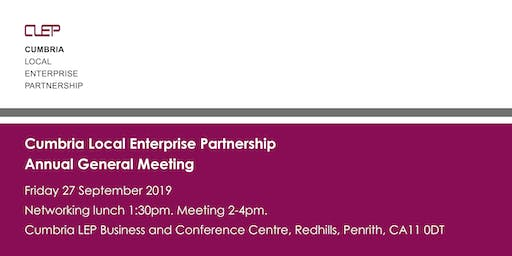 Cumbria Local Enterprise Partnership Annual General Meeting