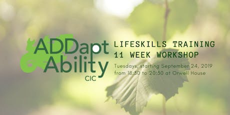 LIfe Skills Training for Adults with ADHD tickets