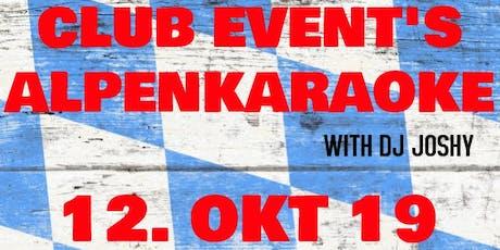 CLUB EVENTS ALPENKARAOKE Tickets
