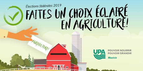 Vos candidats parlent d'agriculture! tickets