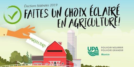 Vos candidats parlent d'agriculture!