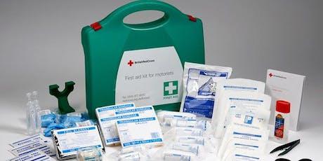 Level 3 Award in First Aid at Work - Monday 29th June - Wednesday 1st July 2020 (THREE DAY) - GADBROOK PARK BID tickets