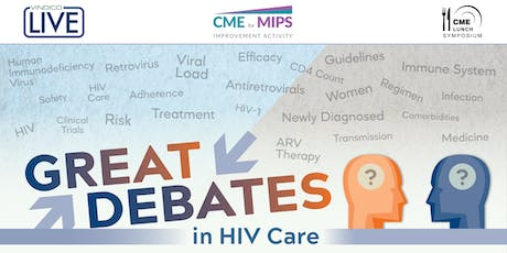Great Debates in HIV Care tickets