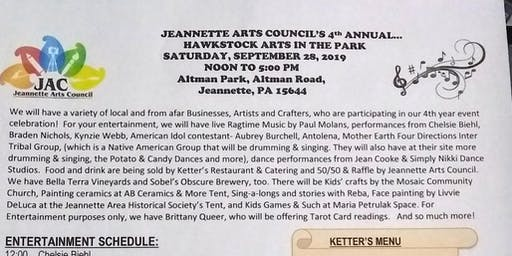 Jeannette Arts Council's Hawkstock Arts in the Park