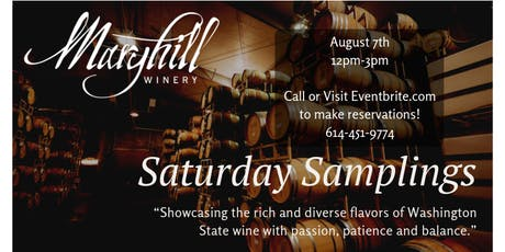 Saturday Samplings: Maryhill Winery tickets