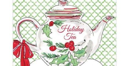 GFWC Ruskin Woman's Club Holiday Tea Luncheon tickets