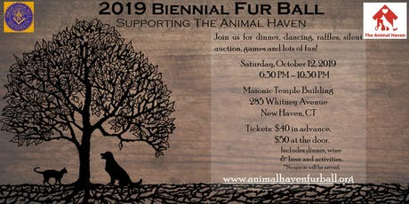 2019 Biennial Fur Ball Supporting The Animal Haven tickets