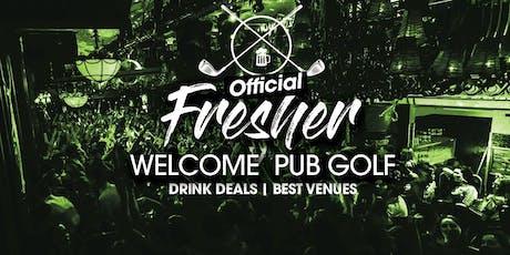 Dublins Biggest Fresher Party - Pub Golf Pub Crawl - 5 Venues tickets
