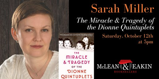 An Evening with Sarah Miller