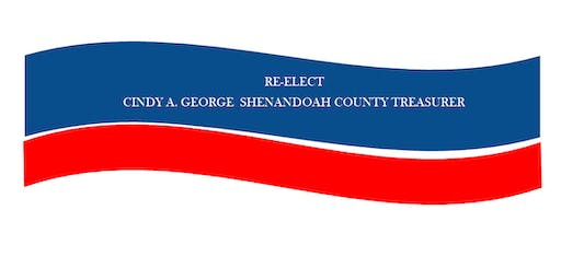 Re-Elect Cindy A. George, Treasurer Fundraiser
