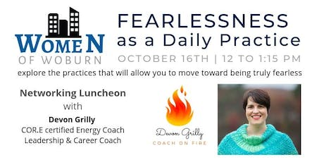 Fearlessness as a Daily Practice with the Women of Woburn tickets