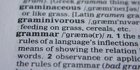 Perfecting your Grammar - English Grammar for Native Speakers tickets