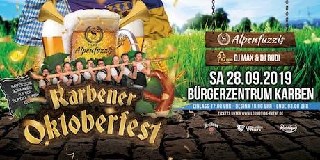 Karbener Oktoberfest 2019 Tickets