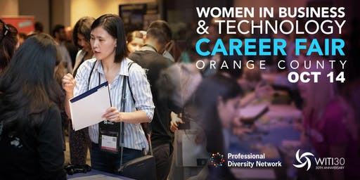 Women in Business & Technology Career Fair - Orange County