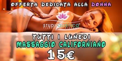 Massaggio Californiano : 15 euro : Pescara