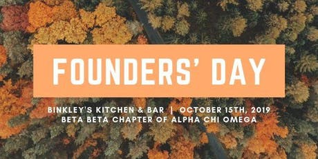 Founders' Day tickets