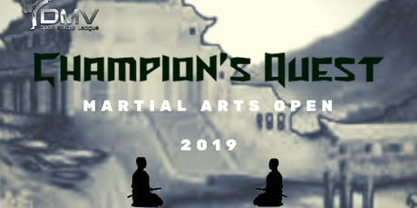 Champion's Quest Martial Arts Open tickets