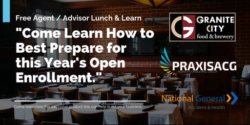 Exclusive  Agent Lunch & Learn Event