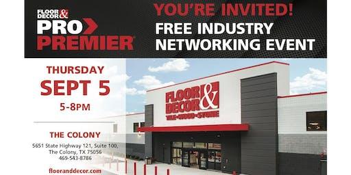 Floor & Decor Industry Networking Event