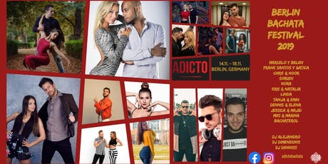ADICTO: Berlin Bachata Festival (with Dancers Bootcamp) tickets