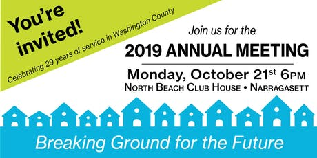 2019 South County Habitat Annual Meeting tickets