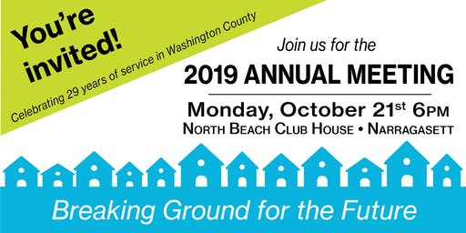 2019 South County Habitat Annual Meeting