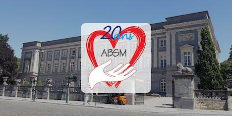 Les 20 ans de l'ABSM tickets