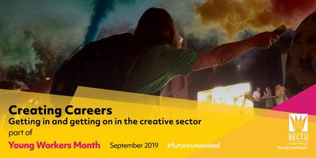 Creating Careers: Getting In and Getting On in the Creative Sector tickets