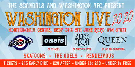 Washington Live 2020 tickets