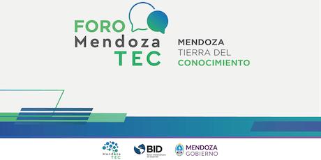 """Foro Mendoza Tec - """"Mendoza Tierra del Conocimiento"""" entradas"""