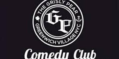 FREE Tickets to Grisly Pear Comedy Club 4pm Show tickets