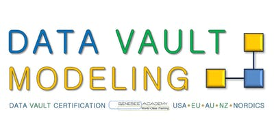 Data Vault Modeling Certification CDVDM - Stockholm