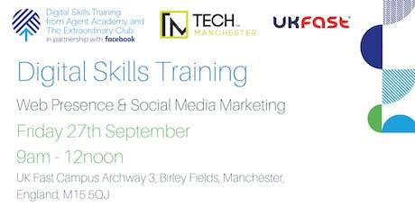 Digital Skills Training in Partnership with Facebook tickets