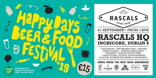 Rascals Brewing Happy Days Beer & Food Festival