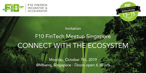 F10 FinTech Meetup: Hackathon Edition