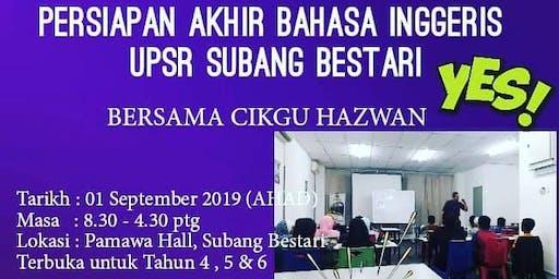 English Workshop Persiapan Akhir UPSR