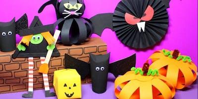 Spooktacular Halloween Arts club
