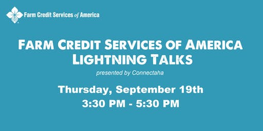 Farm Credit Services of America - Lightning Talks